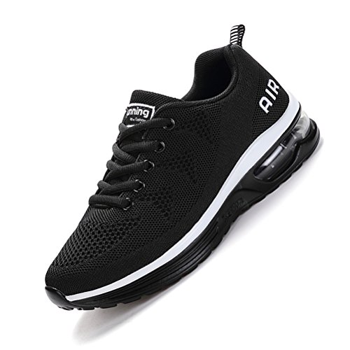 Running Shoes Sneakers for Men Mens Fashion Sports Outdoor Air Cushion Athletic Shoes Trainer Shoe Black White