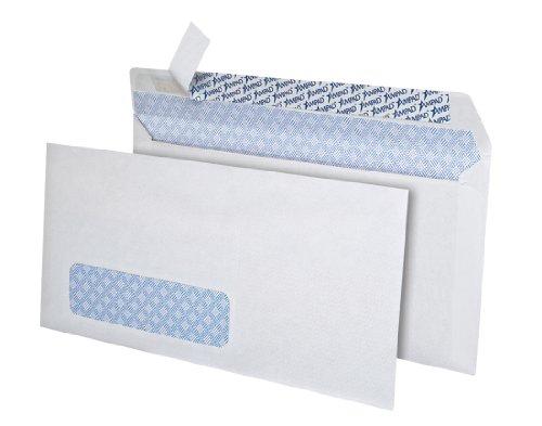 Ampad #10 Single Window Security Envelopes, 150 Envelopes, White (74030W) - 10 Single Window