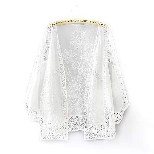 仮定するおばさんリビングルームカーディガン レディース 薄手 長袖 カーディガン きれめ 水着 羽織り かわいい 花柄 刺繍 ガウン アウター 日焼け 冷房対策