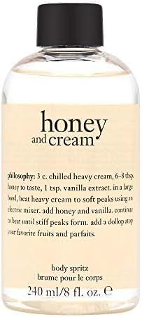 Philosophy Philosophy Honey & Cream 8.0 Oz Body Spritz (no Pump), 8 Oz
