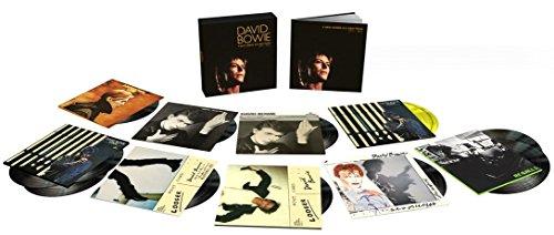 DΑVΙD ΒΟWΙΕ 1977-1982 / Α ΝΕW CΑRΕΕR ΙΝ Α ΝΕW ΤΟWΝ (13LP Vinyl boxset) - UK - Bowie Town