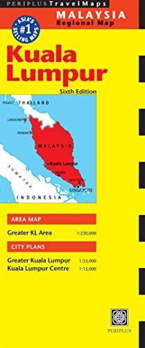 Kuala Lumpur Travel Map Sixth Edition (Periplus Travel Maps)