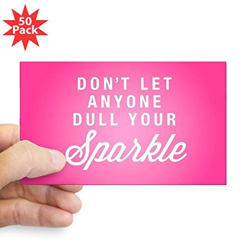 CafePress - Dull Your Sparkle - Sticker (Rectangle 50 pk) by CafePress