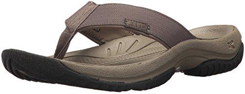 - KEEN Men's KONA FLIP-M Flat Sandal, Bungee Cord/Raven, 7 M US