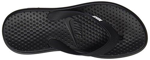 Nike 882690, Chanclas Hombre, Negro (Negro/Blanco), 44 EU