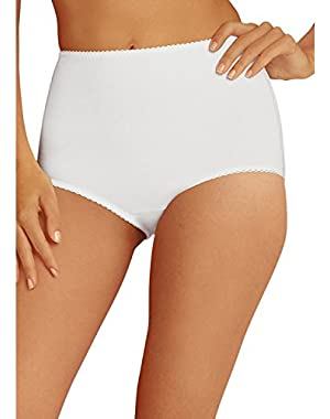 Hanes Women's 2Pack White Cotton Briefs Ladies Panties Underwear