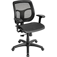 Eurotech Seating Apollo MMT9300 All Mesh Chair with Synchro, Black