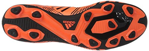 Adidas Performance Hommes Nemeziz 17.4 Fxg Chaussure De Football Solaire Orange / Noir / Orange Solaire