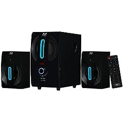 Blue Octave Home 2.1 Speaker System 2.1-Channel Home Theater Speaker System, Black (B22)
