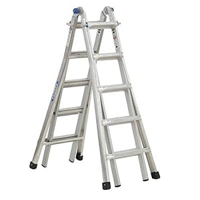 Werner MT-17 300-Pound Duty Rating Telescoping Multi-Ladder, 17-Foot