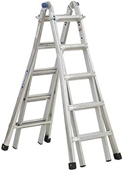Werner 17 ft. Aluminum Telescoping Ladder with 300 lb. Capacity