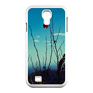 Samsung Galaxy S4 Cases Red Ribbon, - [White] Dustin