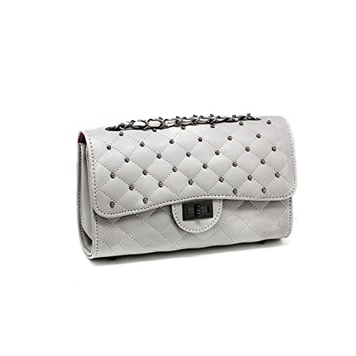 Hb990013c3 Pvc European And American Style Women's Handbag Square Cross-body Shoulder Bags
