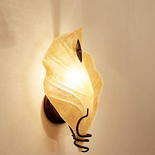 Pendant Light Industrial Design E27 Wall Lamp Glass Leaf Light Balcony Light Aisle Light Led Wall Lamp 36 22Cm E27