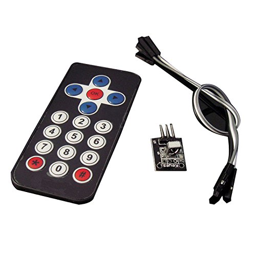 Remote Shield Receiver - Tolako Infrared Wireless Remote Control IR Kit Controller for Arduino