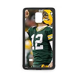 Aaron Rodgers Samsung Galaxy Note 4 Cell Phone Case Black TPU Phone Case SV_271080