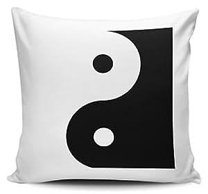 Yin Yang–Funda para cojín