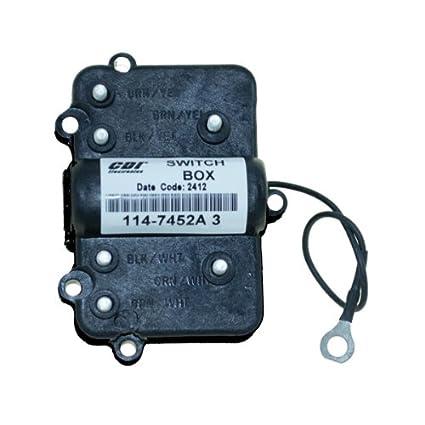 Amazon.com: CDI Mercury Switch Box 114-7452A 3: Automotive