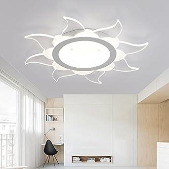 LYXG Plafonnier Led Minimaliste Moderne Et Chaleureux Salon Chambres  Romantique Lampes (400MM 22W)