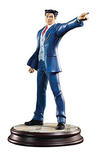 First 4 Figures Phoenix Wright: Ace Attorney: Dual Destinies Resin Statue, Multicolor