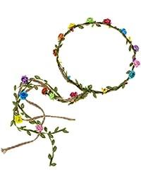 Flower Crown Floral Wreath Headband Floral Garland...