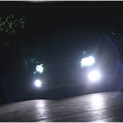Alla Lighting 2000 Lumens High Power 3030 36-SMD Extremely Super Bright 6000K White H11LL H8LL H11 H8 H16 LED Bulbs for Fog Driving Light Lamps Replacement: Automotive