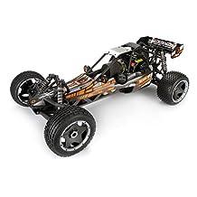 HPI 110679 Baja 5B-1 Buggy Painted Body Matte Gunmetal, 110679