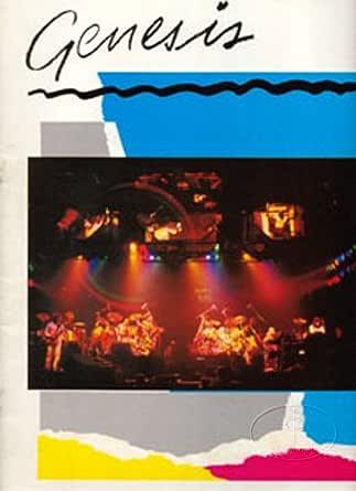 Genesis 1981/82 Abacab Tour Concert Program Programme Phil Collins