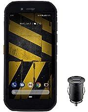 "Smartfon Cat S42 - wzmocniony telefon 4G (IP68, MIL SPEC 810H, bardzo jasny ekran 5,5"" HD+, procesor 1,8 GHz Quadcore, bateria 4200 mAh, Dual SIM, 3 GB/32 GB, Android 10) - czarny"