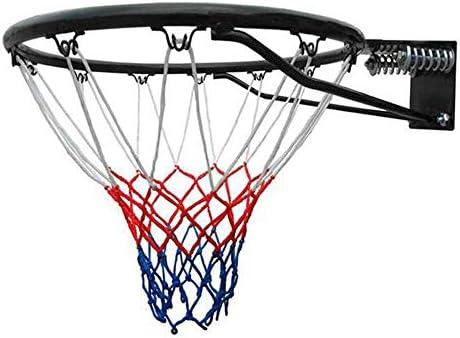 18インチ壁掛けバスケットボールスタンドソリッドチューブ大人屋内屋外ゲームスポーツトレーニングバスケットボールフープ