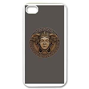 IPhone 4,4S Phone Case for VERSACE LOGO pattern design GQVSELG0718673