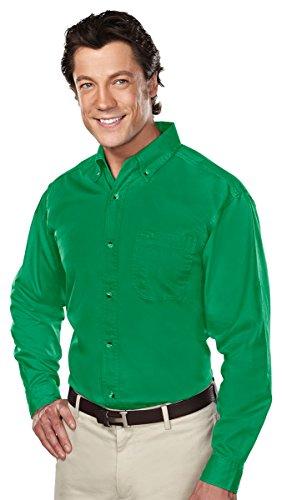 Tri-Mountain 770 Professional w/Dupont Teflon Stain Resistant Shirt, Kelly Green, 3XL