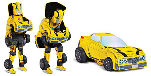 Transformers Bumblebee Transforming 3-D Child Costume Yellow]()