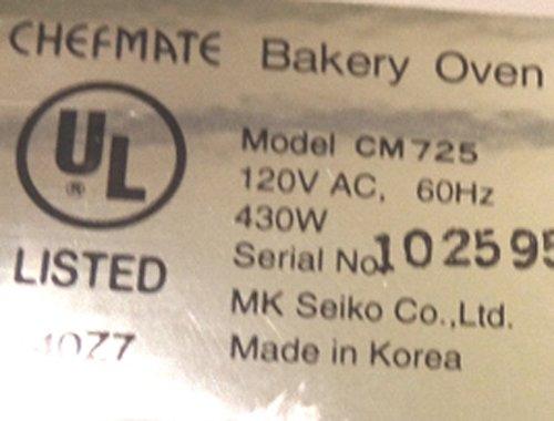 Nueva paleta de amasado para Chefmate modelo # cm725 panadería ...