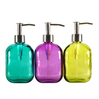 funky bathroom accessories uk careo recycled glass soap dispenser - Funky Bathroom Accessories Uk