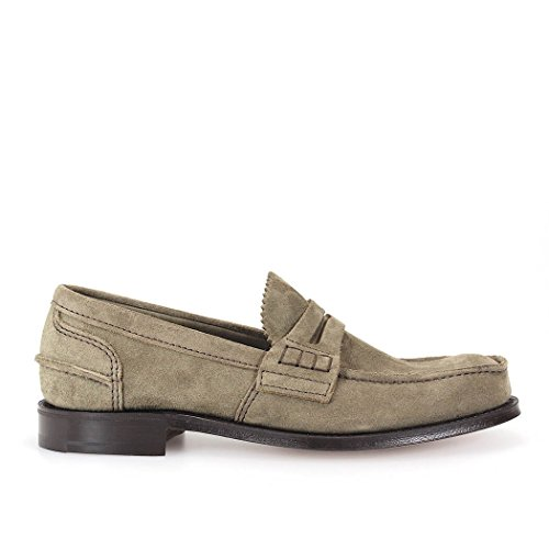 CHURCH'S PEMBREY SUEDE MUD LOAFER