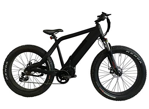 "Camo The Hunter Electric Bicycle - 1000W 48V 26"" Tires by EBWW"