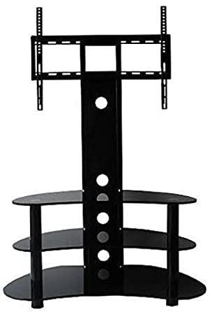 Floor Tv Stand With Mount Floor Tv Bracket Floor Tv Amazon Co Uk