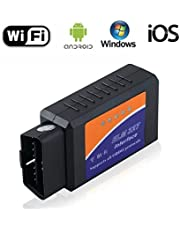 Car ELM327 OBD2 Scanner for iPhone iOS Android Windows Devices