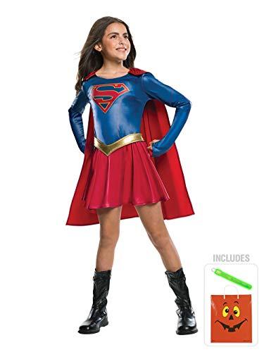 BirthdayExpress Supergirl TV Show Child Costume - S Halloween CKIT -