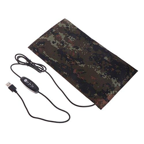 LANDUM - Alfombrilla de calefacción para Mascotas (USB, Repelente, Calentador Constante, Impermeable, 5 W, 7 W), 1: 10x20cm/3.94x7.87