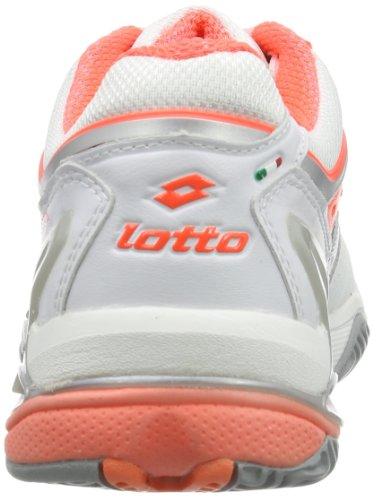 Blanco Raptor Zapatillas Ultra W fl Tenis Lotto wht De Goma Iv Weiß Mujer Carr Clay TdvqvpSw