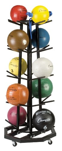 Champion Sports Deluxe Medicine Ball Tree by Champion Sports