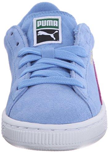 PumaSuede Jr - Zapatillas Niños-Niñas Marina Blue/Meadow