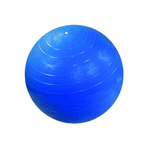 Cheap CanDo Non-Slip Super Thick Inflatable Exercise Ball, Blue, 33.5″