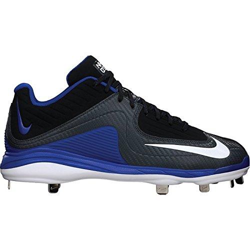 Baseball Pro MVP White II Blue Mens Metal Black Cleats Nike Air Black White 7qYptWg7