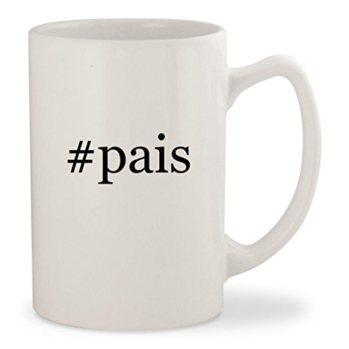 #pais - White Hashtag 14oz Ceramic Statesman Coffee Mug (Pai Gow Cup)