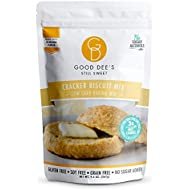 Good Dee's Cracker Biscuit Mix - Low carb, Keto friendly, Sugar Free, Gluten free, Sugar Alcohol Free, Atkins friendly, Diabetic friendly, WW Friendly, 3g net carbs , 10 servings