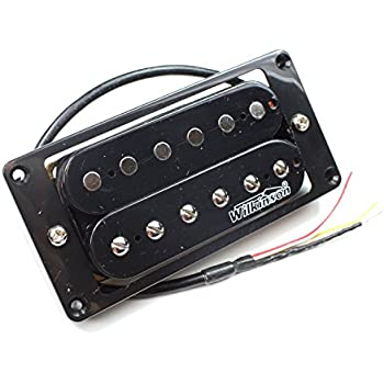 Guitar Pickups Output Voltage : wilkinson mwhbb electric guitar bridge pickup humbucker black high output ~ Hamham.info Haus und Dekorationen