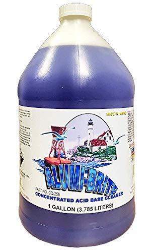 Alumi-Brite Aluminum Cleaner and Brightener Concentrated Acid Base Cleaner 1 Gallon (Cleaner Aluminum Brite)
